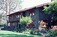Greene & Greene: Ranney House, 1907. 440 Arroyo Terrace.  Photo '84.