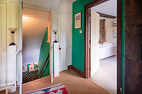 BNPS.co.uk (01202) 558833.<br /> Pic: CarterJonas/BNPS<br /> <br /> The former family home of Lord of the Flies author William Golding has gone on sale for £1m.<br /> <br /> The Grade II Listed cottage on a green in Marlborough is said to have inspired some of the Nobel Prize winning writer's work.<br /> <br /> His parents Alec, a teacher, and Mildred, a suffragette, bought the house and moved there in 1905, when Mr Golding obtained a job at the town's grammar school.<br /> <br /> Sir William was born in 1911 and he and his brother lived in the property and its location influenced his writing. He wrote of the property: 'Our house was on the green, that close like square, tilted south'.