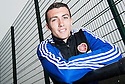 For Sunday Paper : Hearts' David Smith at today's press conference.