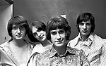 The Kinks 1966 Pete Quaife, Dave Davies, Ray Davies and Mick Avory.© Chris Walter.
