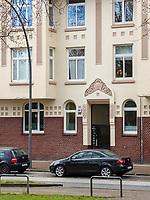 Wohnanlage Tannenburg erbaut 1907, Breitenfelder Straße. 46-48in Hamburg-Hoheluft-Ost, Deutschland, Europa<br /> housing area Tannenburg built 1907, Breitenfelder St.46-48 in Hamburg-Hoheluft-Ost, Germany, Europe