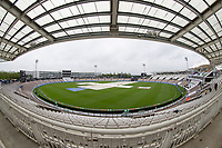The covers on as the rain falls on day 4 during India vs New Zealand, ICC World Test Championship Final Cricket at The Hampshire Bowl on 21st June 2021