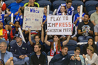 Chicago, IL - Saturday Sept. 24, 2016: fans during a regular season National Women's Soccer League (NWSL) match between the Chicago Red Stars and the Washington Spirit at Toyota Park.