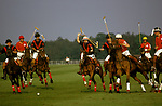 Prince Charles playing Polo at Windsor Great Park. 1985, 1980s UK.