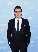 12 January 2021 - Jacob Hoggard, frontman for Canadian rock band Hedley, faces trial in April (initially set for January) on sex-related charges. File Photo: 2015 JUNO Awards, Hamilton, Ontario, Canada. Photo Credit: Brent Perniac/AdMedia