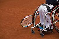 August 6, 2014, Netherlands, Rotterdam, TV Victoria, Tennis, National Junior Championships, NJK,  Wheelchair,  Mitchel Graauw (NED)<br /> Photo: Tennisimages/Henk Koster