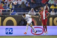 Orlando, FL - Monday June 06, 2016: Bolivia defender Nelson Cabrera (5) during a Copa America Centenario Group D match between Panama (PAN) and Bolivia (BOL) at Camping World Stadium.
