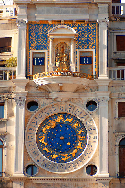 The Bell Tower - Saint Mark's Square  - Venice Italy