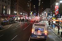 Verkehr auf der 7th AV Richtung Times Square