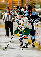 30 November 2018: University of Vermont Catamount Forward Abby Cleary, a Junior from Buffalo, NY, in second period action against the University of Maine Black Bears at Gutterson Fieldhouse in Burlington, Vermont. The Lady Cats were edged out by the Bears 2-1 in the first game of their 2-game Hockey East series. Mandatory Credit: Ed Wolfstein Photo *** RAW (NEF) Image File Available ***