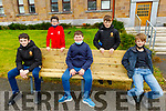 CBS students supporting the Well Being Day 2020 in CBS on Friday. Seated L to r: Sean Power, Jack Lyne and Tony Thornton. Standing: Jake Clifford and Daniel Duffy.