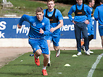 St Johnstone Training…04.04.17<br />David Wotherspoon pictured during training this morning ahead of tomorrow's game against Hearts<br />Picture by Graeme Hart.<br />Copyright Perthshire Picture Agency<br />Tel: 01738 623350  Mobile: 07990 594431