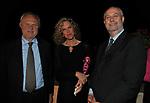 ESTERINO MONTINO,  MONICA CIRINNA' E UMBERTO CROPPI<br /> PREMIO GUIDO CARLI - SESTA EDIZIONE<br /> PALAZZO DI MONTECITORIO - SALA DELLA REGINA CON RICEVIMENTO A VILLA AURELIA ROMA 2015