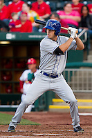Tim Wheeler (7) of the Tulsa Drillers at bat during a game against the Springfield Cardinals on April 29, 2011 at Hammons Field in Springfield, Missouri.  Photo By David Welker/Four Seam Images.