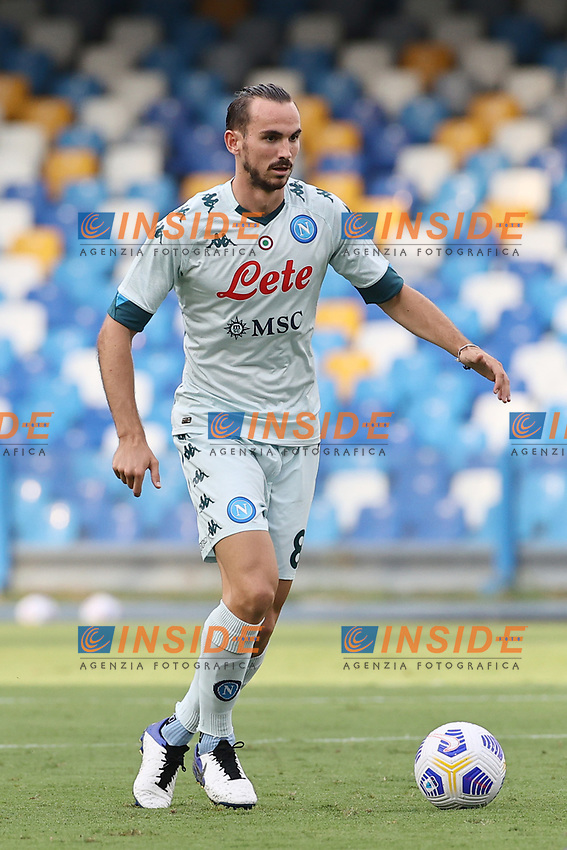 Fabian Ruiz of SSC Napoli<br /> during the friendly football match between SSC Napoli and Pescara Calcio 1936 at stadio San Paolo in Napoli, Italy, September 11, 2020. <br /> Photo Cesare Purini / Insidefoto