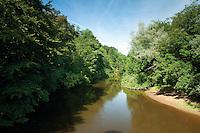 The River Kelvin, Botanic Gardens, Glasgow