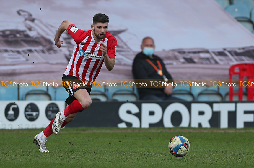 Sunderland's Jordan Jones during Peterborough United vs Sunderland AFC, Sky Bet EFL League 1 Football at London Road on 5th April 2021