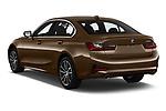 Car pictures of rear three quarter view of a 2019 BMW 3-Series  Sport 4 Door Sedan angular rear