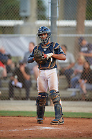 Harry Ford (7) during the WWBA World Championship at the Roger Dean Complex on October 11, 2019 in Jupiter, Florida.  Harry Ford attends North Cobb High School in Kennesaw, GA and is committed to Georgia Tech.  (Mike Janes/Four Seam Images)