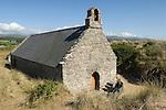"""St Saint Tanwg Llandanwg """"Church in Sand Dunes"""" Gwynedd North Wales UK"""