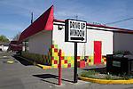 Yakima, street scene, 1st Street, Eastern Washington, Yakima County, Washington State, Pacific Northwest, United States,