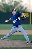 Danny Danielson - Los Angeles Dodgers 2009 Instructional League. .Photo by:  Bill Mitchell/Four Seam Images..