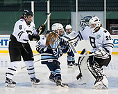 Maryanne Iodice (Bowdoin - 8), Kylie Wilkes (CC - 13), Kerri St. Denis (Bowdoin - 29) - The Babson College Polar Bears defeated the Connecticut College Camels 3-0 on Thursday, January 12, 2017, at Fenway Park in Boston, Massachusetts.