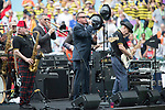 Madness' performance during the HSBC Hong Kong Rugby Sevens 2017 on 08 April 2017 in Hong Kong Stadium, Hong Kong, China. Photo by Chris Wong / Power Sport Images