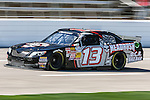 Mike Wallace (13) in action during the NASCAR Nationwide Series qualifying at Texas Motor Speedway in Fort Worth,Texas.