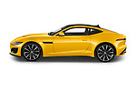 Car Driver side profile view of a 2020 Jaguar F-Type R 2 Door Coupe Side View