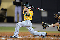 Siena Saints shortstop Tyler Martis (1) during the season opening game against the Central Florida Knights at Jay Bergman Field on February 14, 2014 in Orlando, Florida.  UCF defeated Siena 8-1.  (Mike Janes/Four Seam Images)