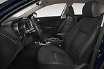 Front seat view of a 2014 KIA Optima Hybrid EX 4 Door Sedan Front Seat car photos