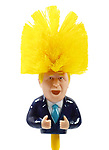"""Pictured the Boris Johnson toilet brush<br /> <br /> Sales of a toilet brush bearing the face of Boris Johnson have rocketed with more people than ever wanting to stick the PM's head down the toilet.  The £4.99 Boris Bog Brush and 99p Boris Bog Roll have flown off shelves during lockdown as the Prime Minister began to test the public's patience.<br /> <br /> The company selling the jokey products insist it's nothing personal against Boris, but claim it's good to see the public 'in close contact' with their politicians.  The owner of Bog Standard, Carlton Johnson, said: """"I saw people had made some toilet paper with Donald Trump's face on, and it had been successful, so I thought 'why don't I do some for Boris?'  SEE OUR COPY FOR DETAILS.<br /> <br /> Please byline: BogStandardShop.com/Solent News<br /> <br /> © BogStandardShop.com/Solent News & Photo Agency<br /> UK +44 (0) 2380 458800"""