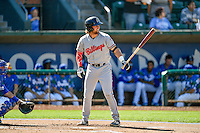 Cassidy Brown (39) of the Billings Mustangs at bat against the Ogden Raptors in Pioneer League action at Lindquist Field on August 14, 2016 in Ogden, Utah. Ogden defeated Billings 15-9. (Stephen Smith/Four Seam Images)