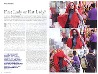 The Foreign Corespondent Magazine, Hong Kong, 2009, showing the incident where Grace Mugabe attacked photographer Richard Jones. ©sinopix