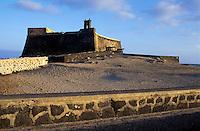 Lanzarote, Castillo de San Gabriel in Arrecife, Lanzarote, Canary Islands, Spain