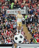 Eröffnungsfeier der Fußball WM in Russland - 14.06.2018: Russland vs. Saudi Arabien, Eröffnungsspiel der WM2018, Luzhniki Stadium Moskau