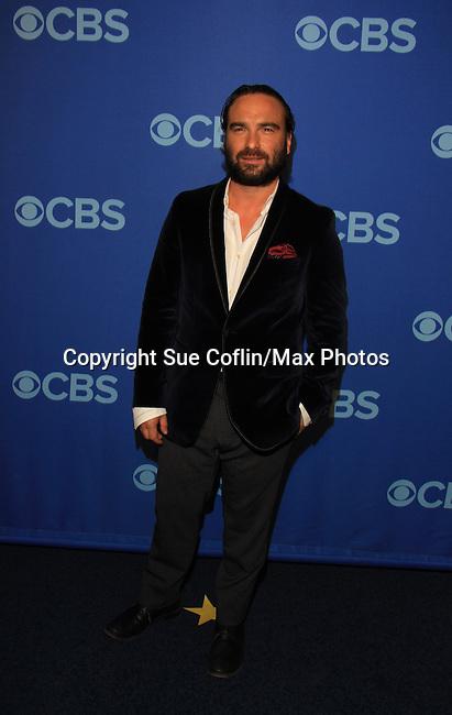 Johnny Galecki - Big Bang Theory at the CBS Upfront on May 15, 2013 at Lincoln Center, New York City, New York. (Photo by Sue Coflin/Max Photos)