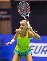 13-12-12, Rotterdam, Tennis Masters 2012, Arantxa Rus verliest van Quirine Lemoine met 46 62.
