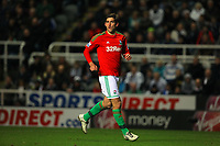 Saturday 17 November 2012<br /> Pictured: Danny Graham of Swansea<br /> Re: Barclay's Premier League, Newcastle United v Swansea City FC at St James' Park, Newcastle Upon Tyne, UK.