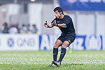 Fifa Referee Rowan Arumughan of India during the AFC Champions League 2017 Group G match between Eastern SC (HKG) vs Guangzhou Evergrande FC (CHN) at the Mongkok Stadium on 25 April 2017, in Hong Kong, China. Photo by Chung Yan Man / Power Sport Images
