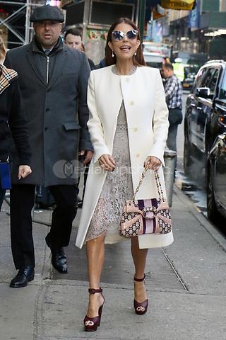 NEW YORK, NY- November 11: Bethenny Frankel at Strahan, Sara & Keke in New York City on November 11, 2019. Credit: RW/MediaPunch