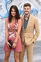 Jim chapman<br /> arriving for The Summer Party 2019 at the Serpentine Gallery, Hyde Park, London<br /> <br /> ©Ash Knotek  D3511  25/06/2019