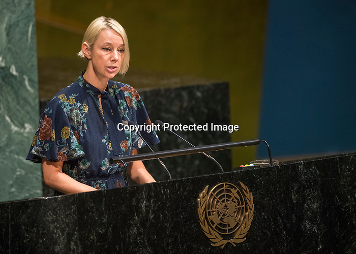 GA 72<br /> High-level meeting of the General Assembly on the appraisal of the United Nations Global Plan of Action to Combat Trafficking in Persons <br /> <br /> INTER POL