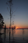 Sundown/Dusk at Lake Maraboon Emerald Qld