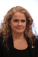 Julie Payette<br /> <br />  en 2106.<br /> <br /> PHOTO : Pierre Roussel -  Agence Quebec Presse