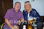 Enjoying the evening in the Grand Hotel on Sunday, l to r: Raymond and Helen Mallon.