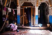 An old house in the ancient city of Varanasi in Uttar Pradesh, India. Photograph: Sanjit Das/Panos