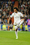 Real Madrid´s Marcelo Vieira during 2014-15 Champions League match between Real Madrid and FC Shalke 04 at Santiago Bernabeu stadium in Madrid, Spain. March 10, 2015. (ALTERPHOTOS/Luis Fernandez)