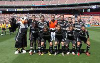 DC United Starting XI. DC United defeated Chivas USA 2-1, at RFK Stadium in Washington DC, Sunday May 6, 2007.